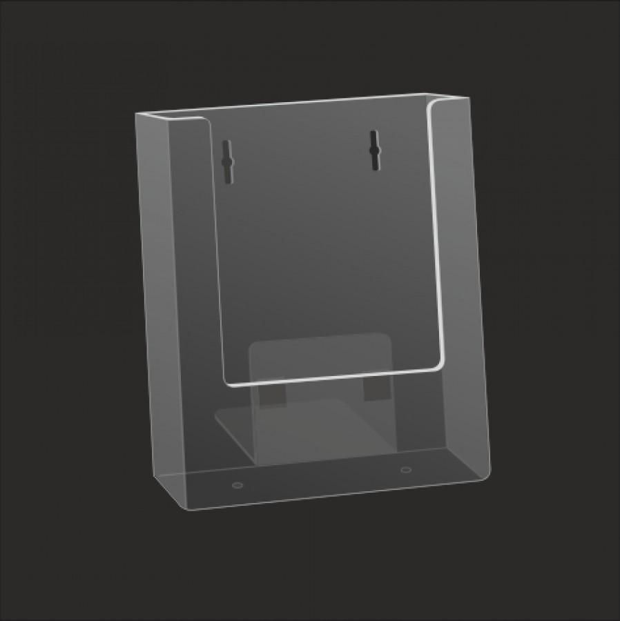 wall mounted brochure holders. Black Bedroom Furniture Sets. Home Design Ideas